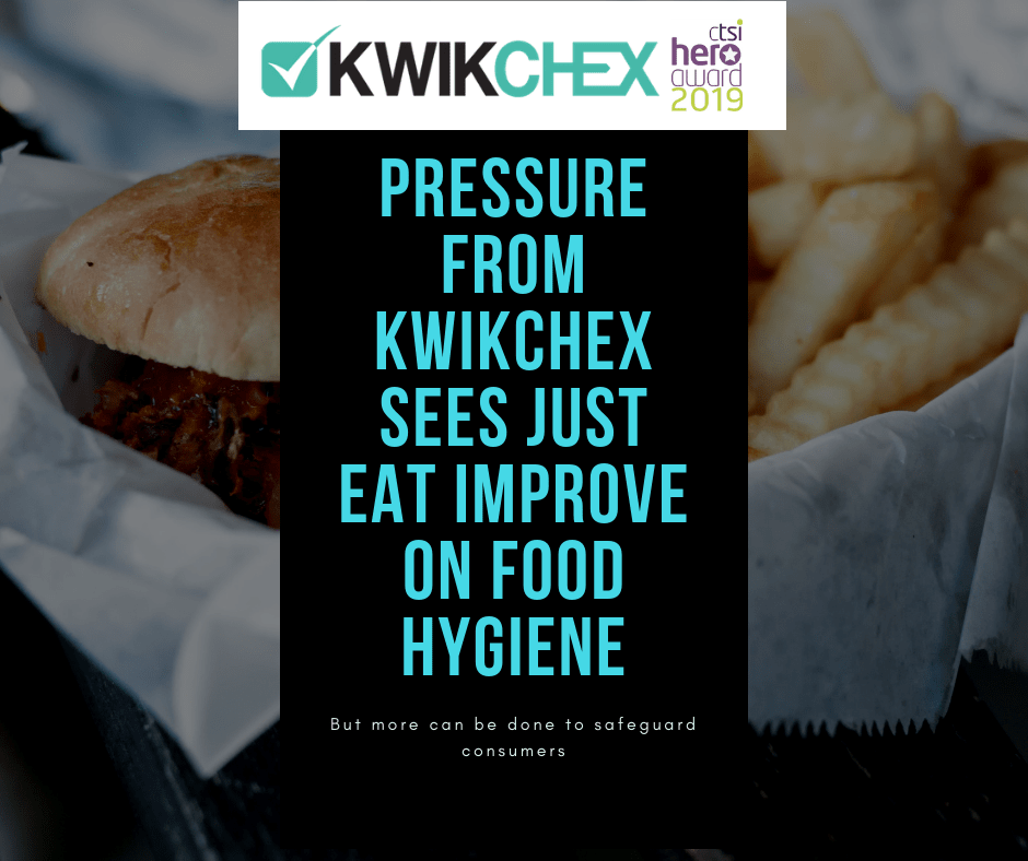 Pressure From Kwikchex Sees Just Eat Improve On Food Hygiene