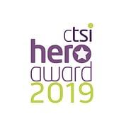 CTSI Hero Award Logo Square