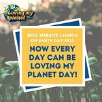 Lancement de la bêta du site web Loving My Planet